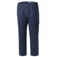 Pantalone 100% cotone multitasca elasticizzato modello BremboPlus