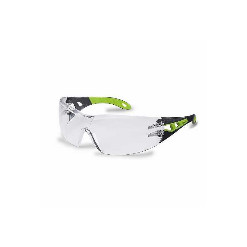 Occhiali protettivi da lavoro antigraffio policarbonato protezione UV modello Pheos 9192-225