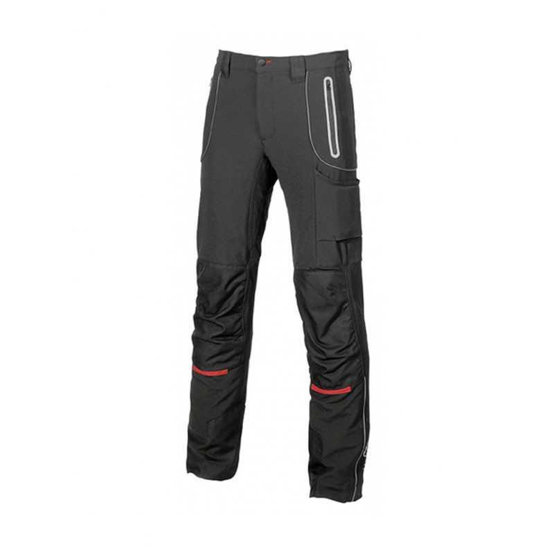 Pantaloni da lavoro U-Power PIT in softshell stretch