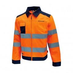 Giacca da lavoro alta visibiltà Gleam U-Power arancione