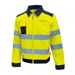 Giacca gialla da lavoro alta visibiltà Glare U-Power giallo