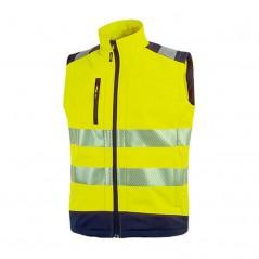 Gilet giallo da lavoro alta visibilità U-Power Dany