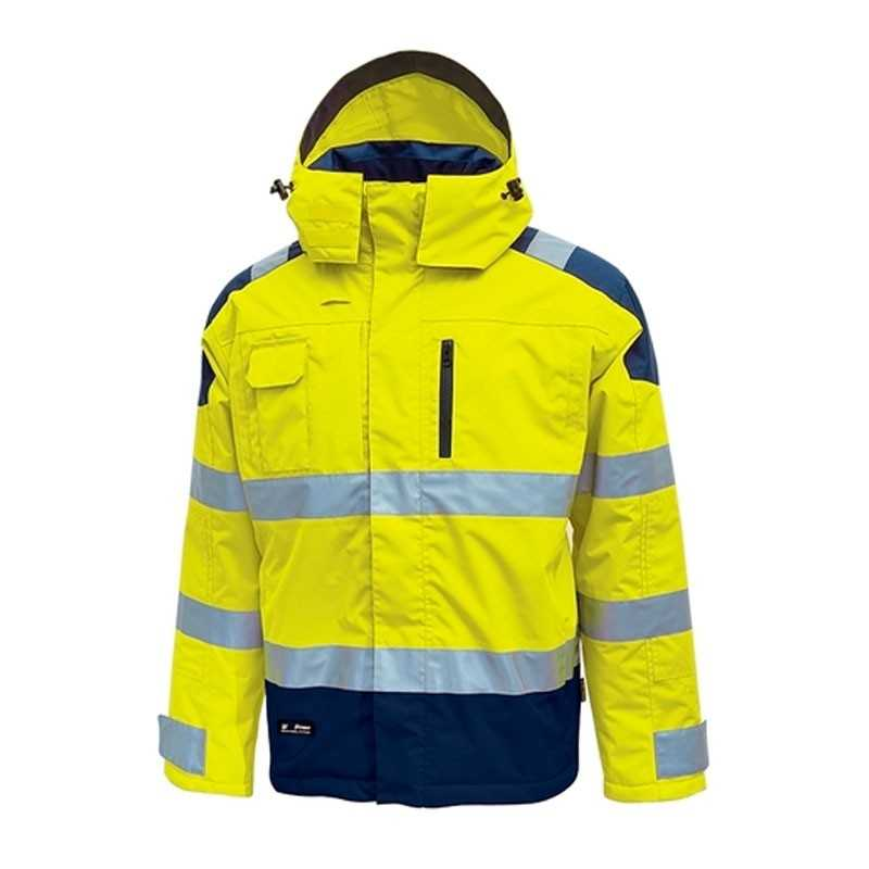 Giubbotto giallo alta visibilità impermeabile U-Power Defender