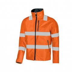 Giubbotto ARANCIONE giacca alta visibilità U Power Bi-Visible reversibile