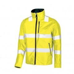 Giubbotto giallo giacca alta visibilità U Power Bi-Visible reversibile