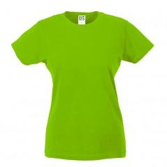 T-Shirt donna girocollo manica corta 100% cotone BS