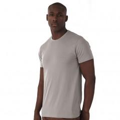T-Shirt maniche corte girocollo sottile cotone 100% organico BS