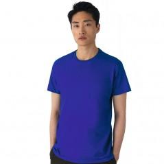 T-Shirt manica corta girocollo a costine 100% cotone ring spun BS