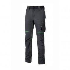 Pantalone in tessuto U-4 resistente, morbido, idrorepellente U-Power
